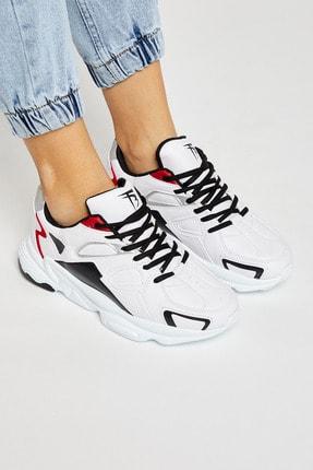 Tonny Black Beyaz Siyah Unisex Sneaker TB252-0 1