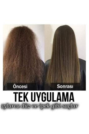 VALENTİNES Professional Krem Keratin + Şampuan + Serum 3lü Set ( Brezilya Fönü) 4