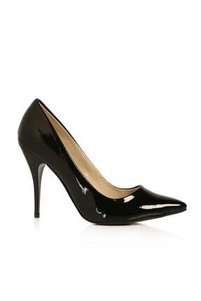 RUBRICA Kadın Siyah Rugan Stiletto Ma-021 2