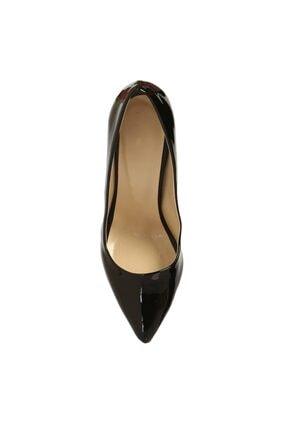 RUBRICA Kadın Siyah Rugan Stiletto Ma-021 4