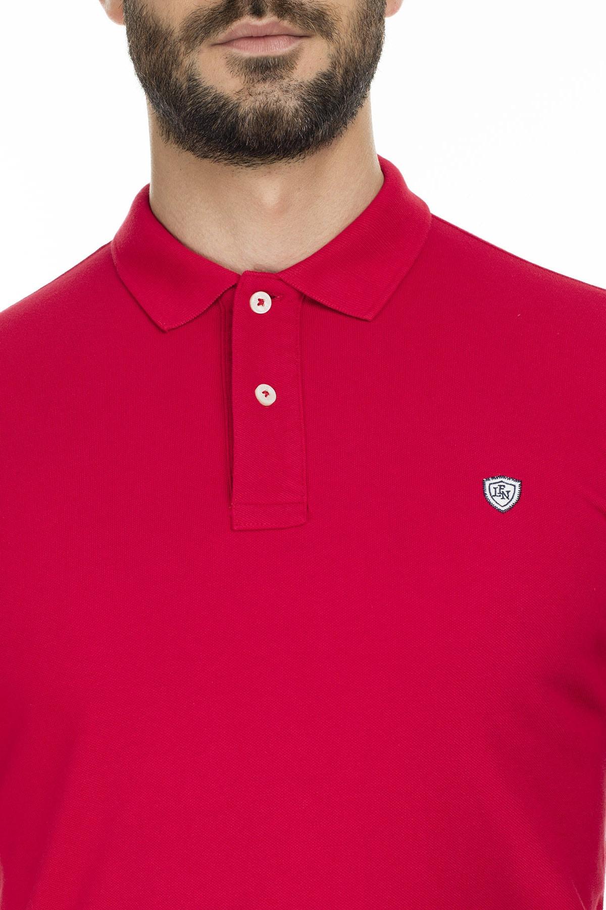 Lufian Laon Spor Polo T- Shirt Kırmızı 3