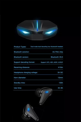 tulparonline Kn95 Bluetooth Oyuncu Kulaklığı 2