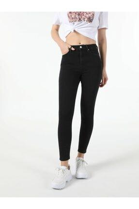 Colin's Kadın Edding Wash Super Slim Fit Yüksek Bel 76 Diana Denim Jean Pantolon 0