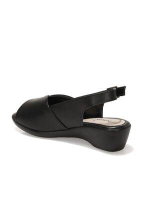 Polaris 162026.Z1FX Siyah Kadın Sandalet 101020215 2