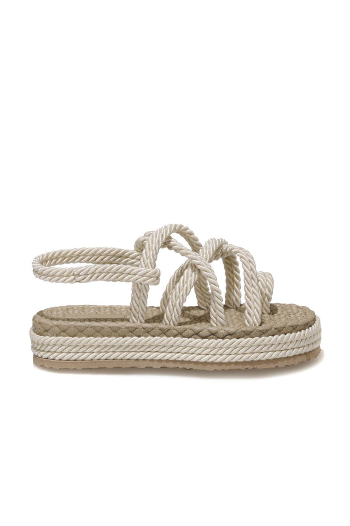 HOLLY 1FX Beyaz Kadın Sandalet 101044082