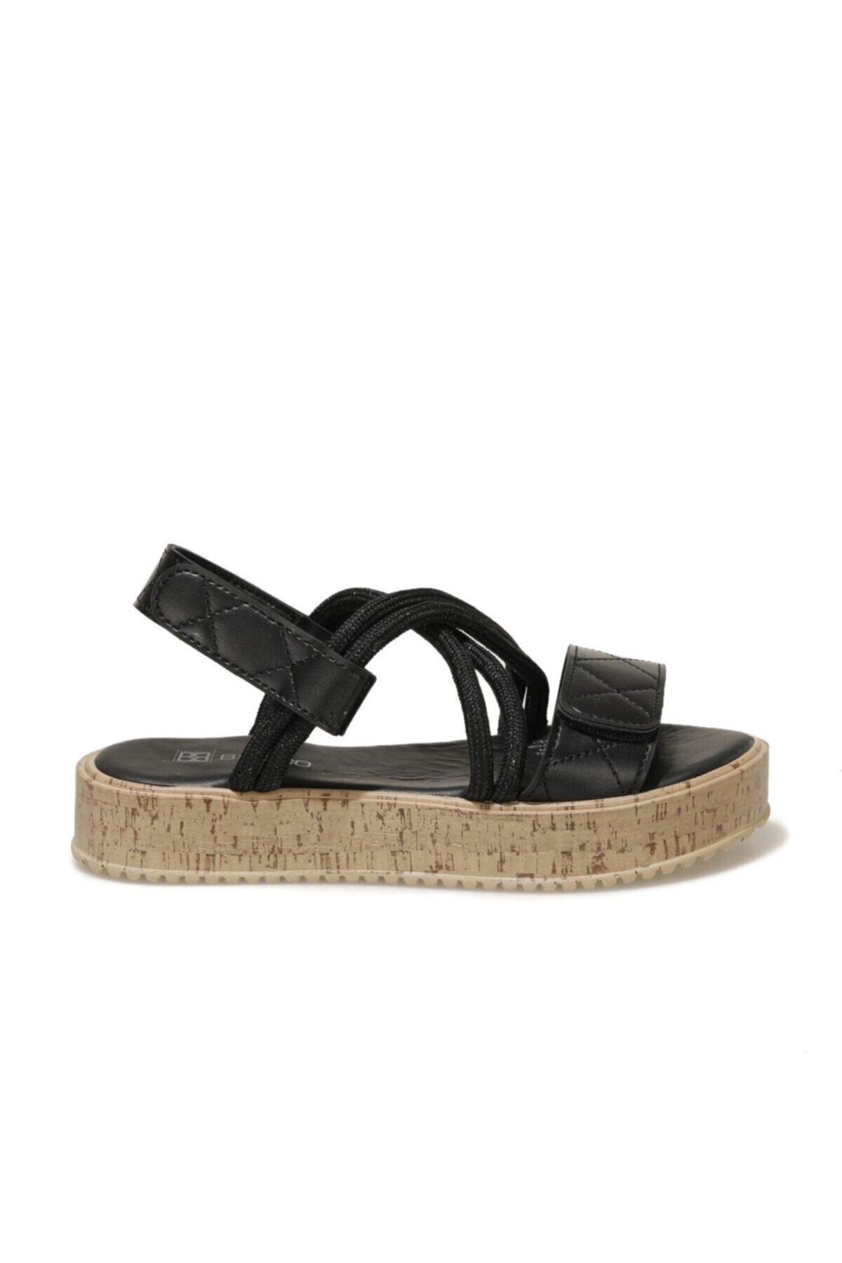 21S-1121FX Siyah Kadın Sandalet 101029267