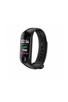 İnter M3 Bluetooth Akıllı Bileklik Saat Dijital Ekran Universal Siyah 1