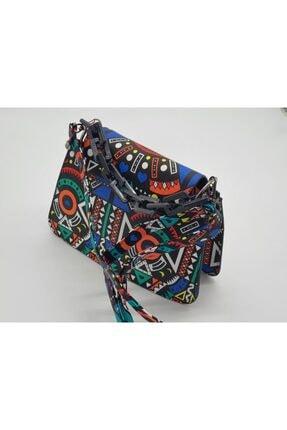 eblack Kadın Renkli  Çanta 3