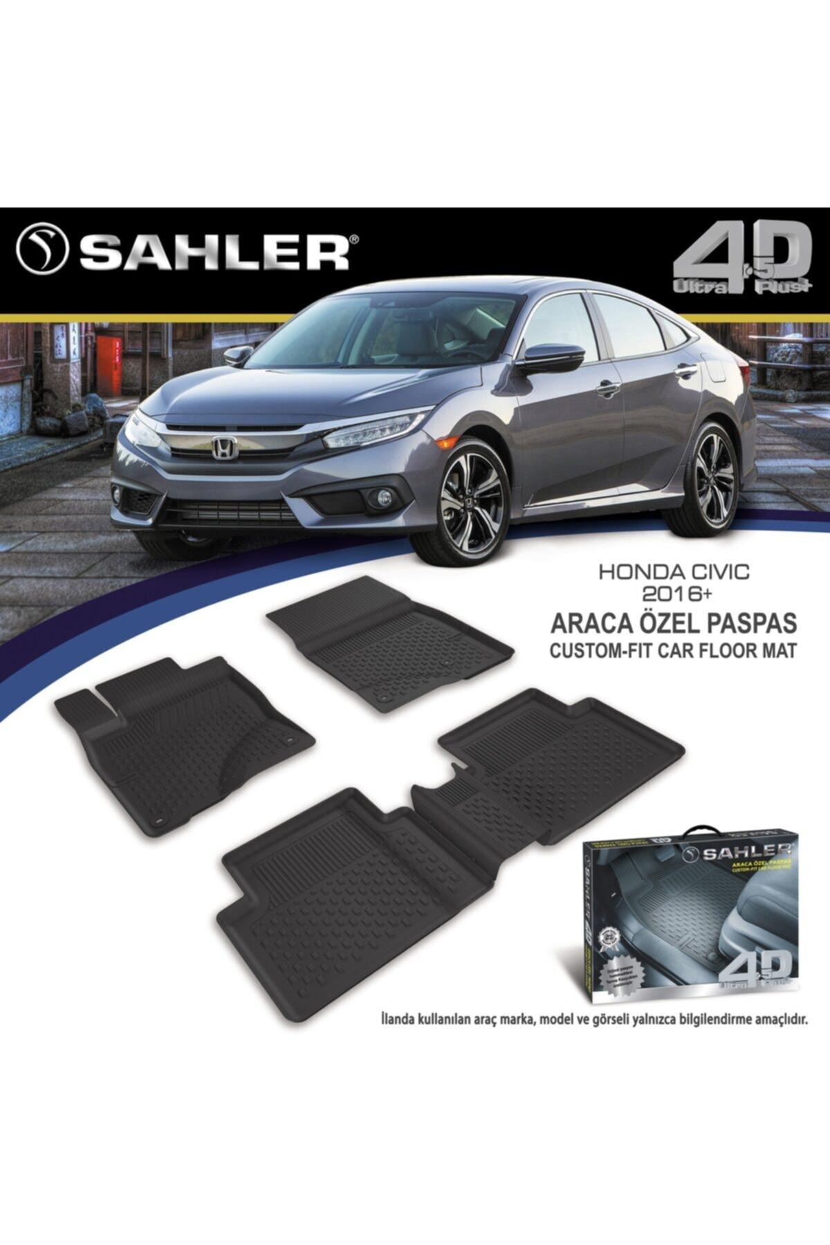 Sahler Honda Civic Fc5 Havuzlu Paspas 4,5d