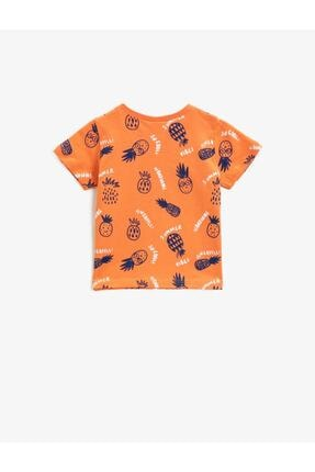 Koton Erkek Bebek Turuncu  T-Shirt 1