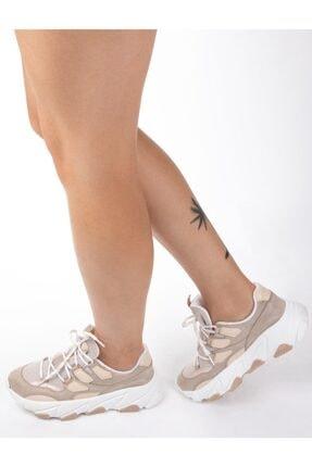 NAVYSIDE Kadın Yüksek Tabanlı Spor Ayakkabı Sneaker Yürüyüş Ayakkabısı 0