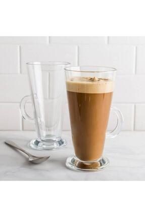 Paşabahçe Colombian 263 ml Kulplu Bardak 2'li - Latte, Limonata, Meşrubat Vb. Bardağı 3
