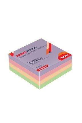 Noki Memo Harmoni Yapışkanlı Not Kağıdı 400 Sayfa 75x75 mm 0