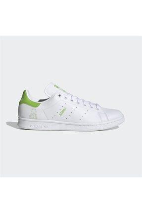 adidas Erkek Beyaz Stan Smith Günlük Spor Ayakkabı 0