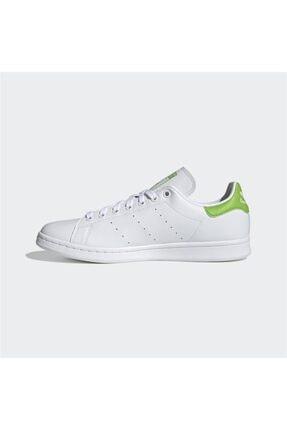 adidas Erkek Beyaz Stan Smith Günlük Spor Ayakkabı 1