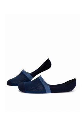 Pierre Cardin Erkek Lacivert Babet Çorap 0