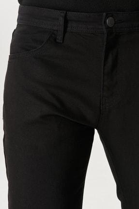 Altınyıldız Classics Erkek Siyah Slim Fit Dar Kesim Denim Jean Kot Pantolon 2