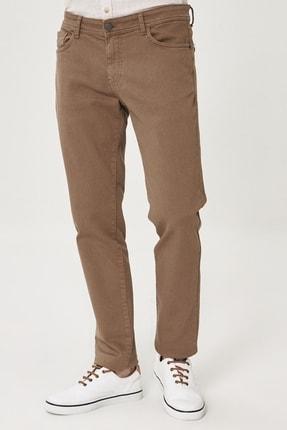 Altınyıldız Classics Erkek Vizon 360 Derece Her Yöne Esneyen Rahat Slim Fit Pantolon 0