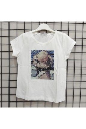 NK Kadın Beyaz  Tişört 0