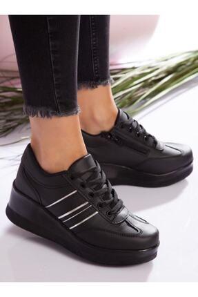 ayakkabıhavuzu Kadın Siyah Spor Ayakkabı 1