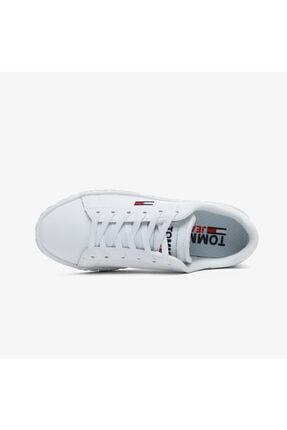 Tommy Hilfiger Kadın  Cool Tommy Jeans Beyaz Spor Ayakkabı 3