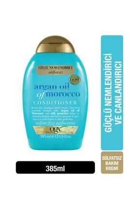 OGX Extra Güçlü Nemlendirici ve Canlandırıcı Argan Oil of Morocco Sülfatsız Bakım Kremi 385 ml 0