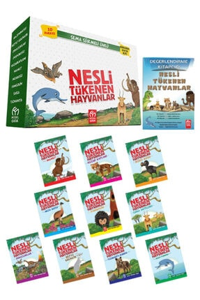 Model Eğitim Yayınları Nesli Tükenen Hayvanlar 2. ve 3.Sınıf Düzeyi 0