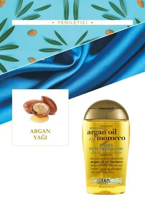 OGX Nemlendirici ve Canlandırıcı Argan Oil Morocco Sülfatsız Şampuan+Bakım Kremi 385ml+Yağ 100ml 3