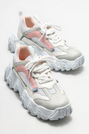 Elle Kadın Beyaz Spor Ayakkabı 1