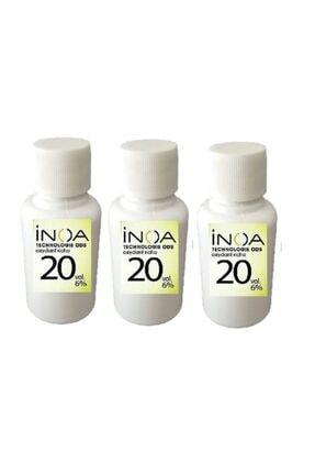 İNOA Inoa 20 Vol %6 Oksidan 60 ml * 3 Adet 0