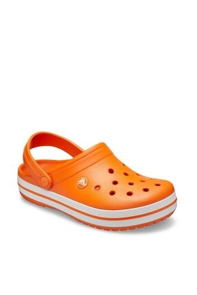 Crocs Crocband Turuncu/beyaz 2
