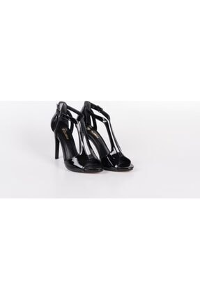 PUNTO Kadın Topuklu Ayakkabı Siyah 0