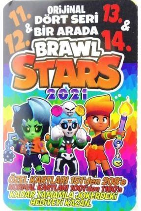brawl stars 2021 Oyun Kartı - 11. 12. 13. 14. Seri - 50 Poşet - 150 Kart 1