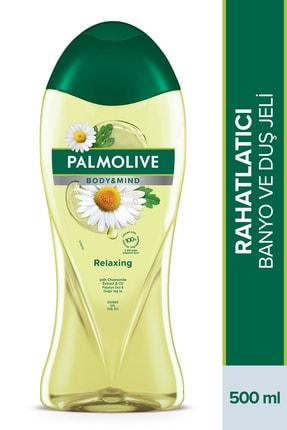 Palmolive Body & Mind Papatya Özü Ve Doğal Yağ Ile Banyo Ve Duş Jeli 500 ml 0