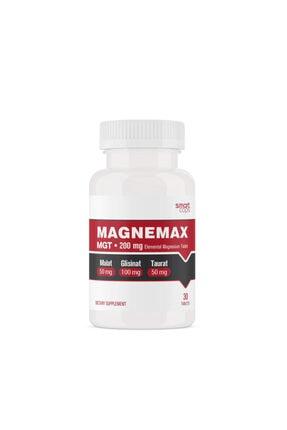 Smartcaps Magnemax Mgt 200 Mg Elementel Magne (Malat, Glisinat, Taurat)zyum 0