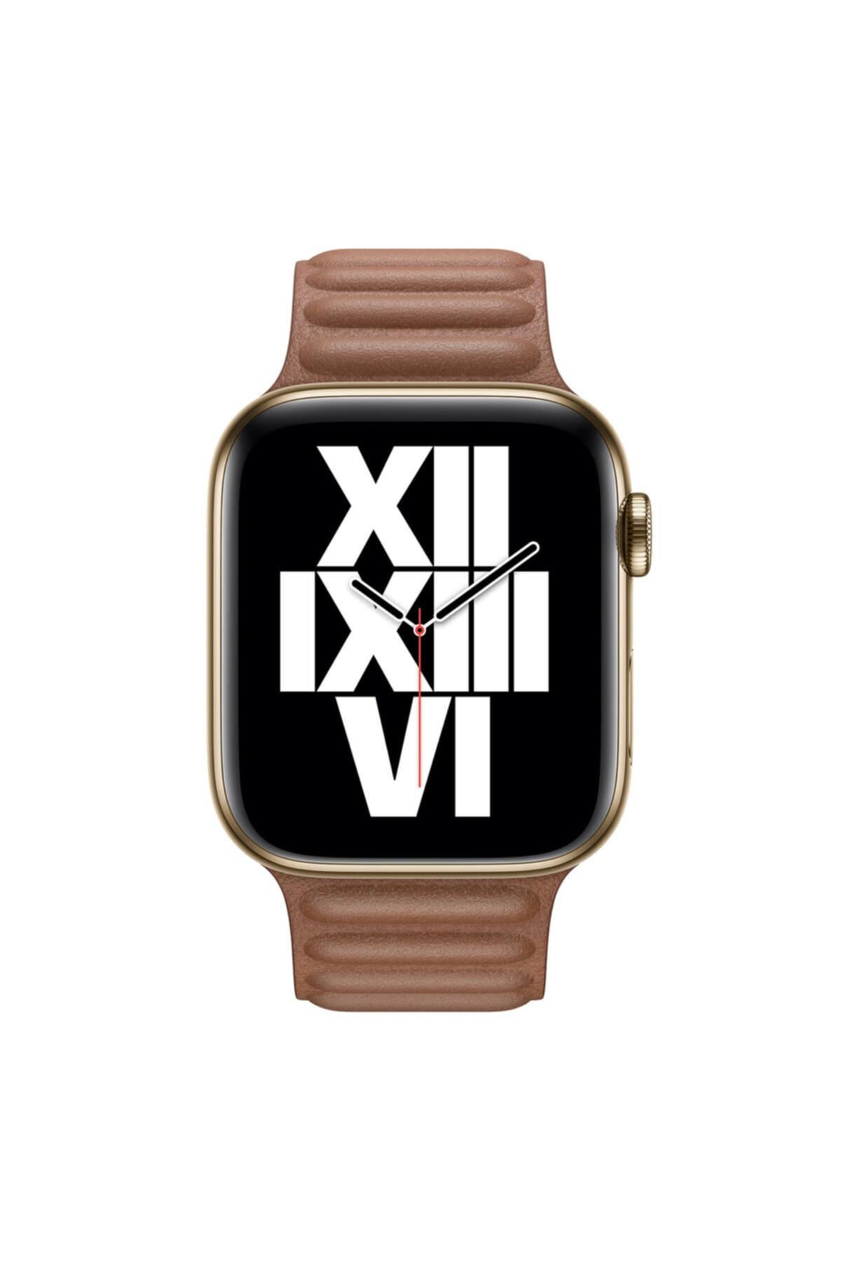 Apple Microsonic Watch Series 4 40mm Kordon Leather Link Band