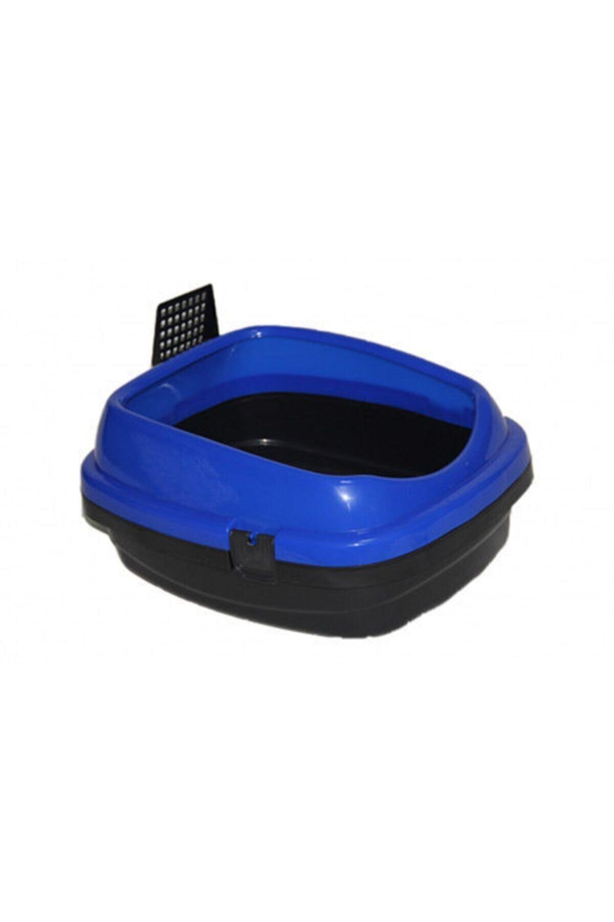 Açık Kedi Tuvaleti Mavi 49.5x40x22 Cm
