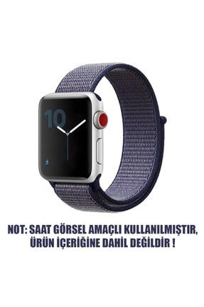 Apple Watch Series 6 40mm Uyumlu Hasırlı Kordon 1