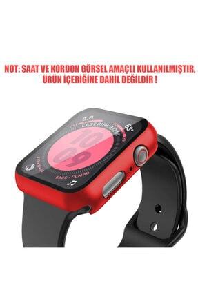 Apple Microsonic Watch Series 6 40mm Kılıf Matte Premium Slim Watchband 1