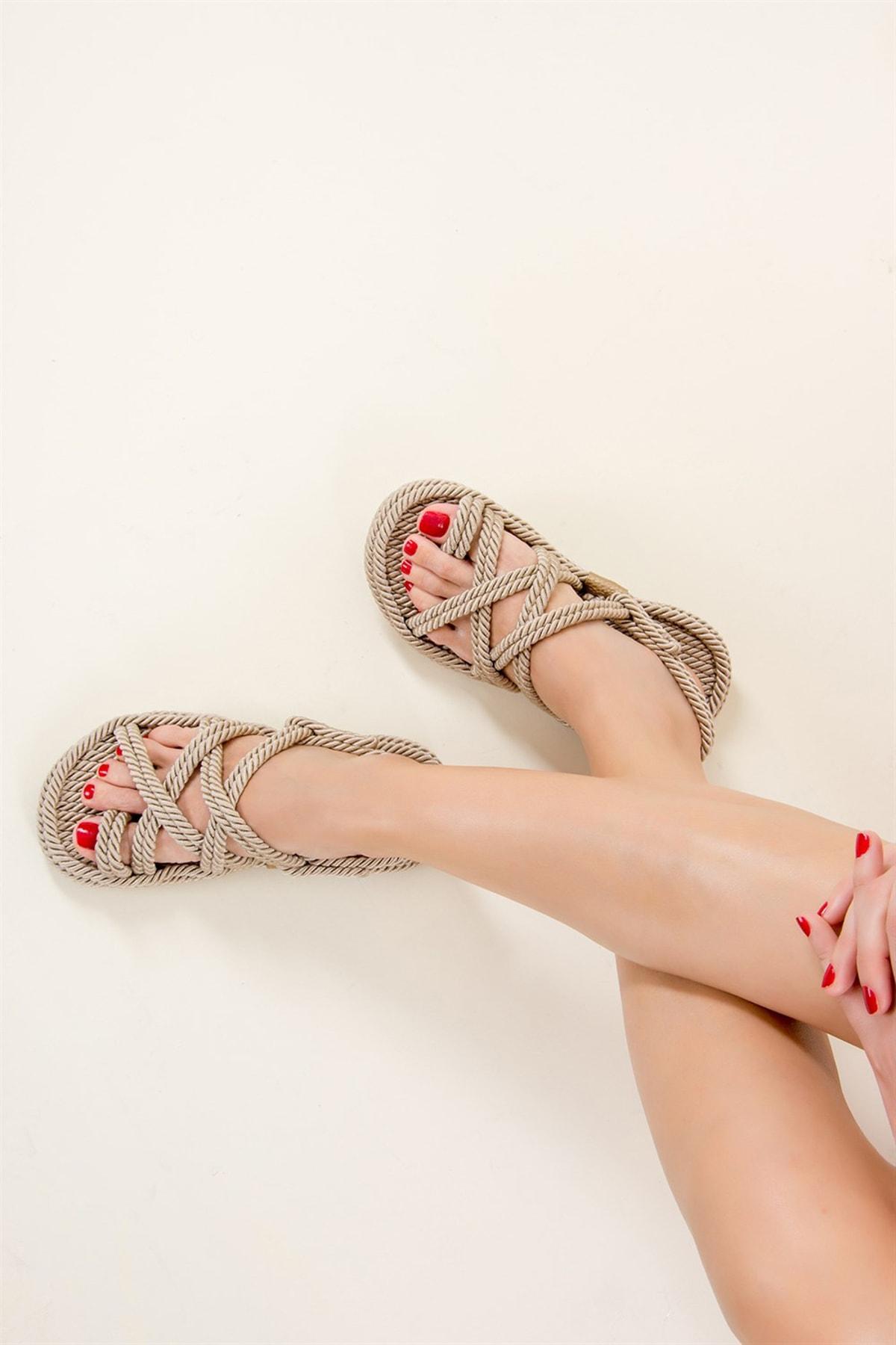 Ten Kadın Sandalet F470135104