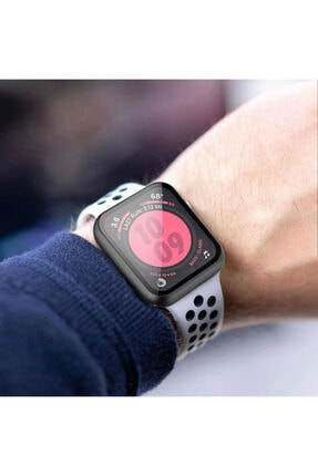 Apple Microsonic Watch Se 40mm Kılıf Matte Premium Slim Watchband Rose Gold 4