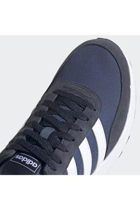 adidas RUN 60S 2.0 Mavi Erkek Koşu Ayakkabısı 101079834 4
