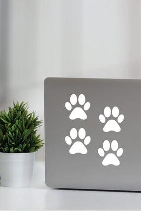 Dijitalya Patiler 4 Adet Sticker Yapıştırma | Kaput - Bagaj - Cam - Leptop | Siyah 1