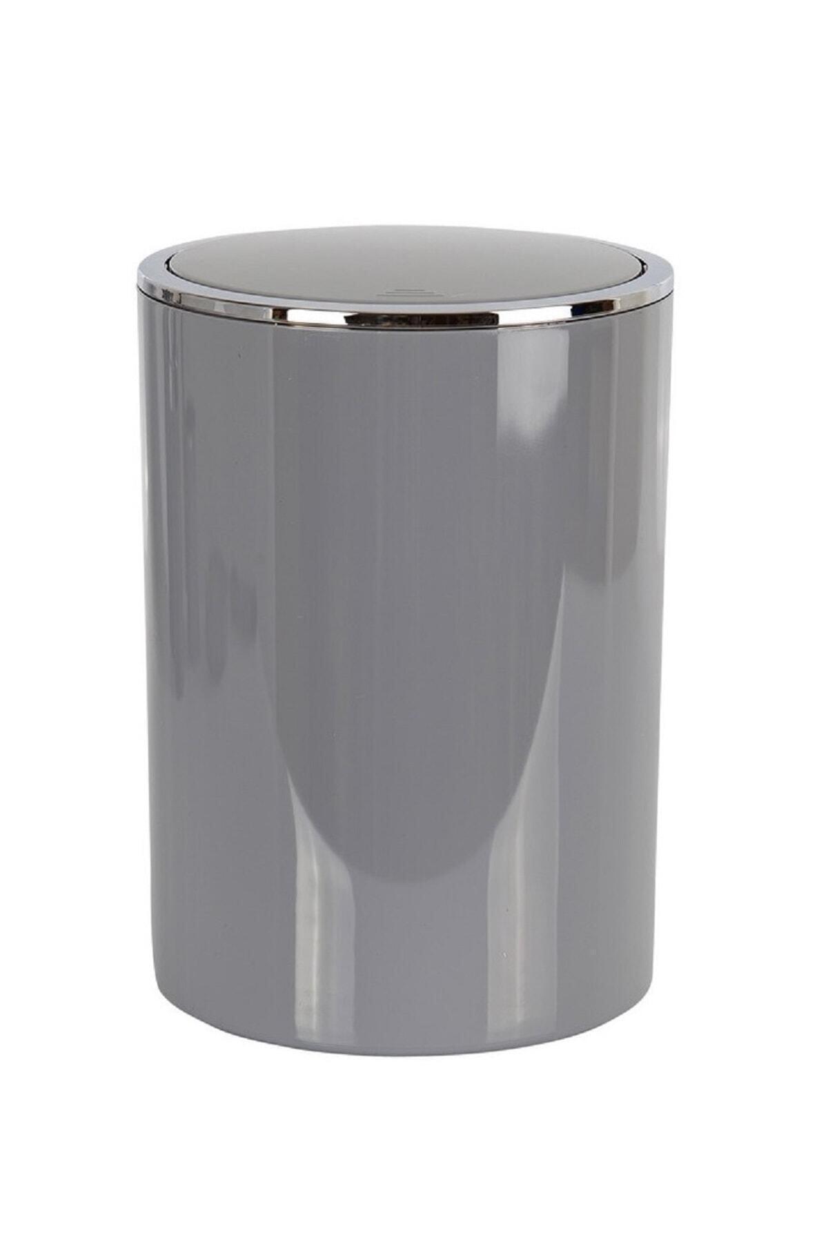 Lenox Çöp Kovası 6 lt Gri (E35)