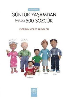 1001 Çiçek Kitaplar Ingilizce Sözcük Kitap & Resimlerle Günlük Yaşamdan 500 Sözcük 0