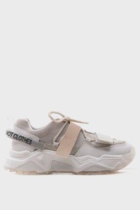 LuviShoes Beyaz Rugan Spor Ayakkabı 65140 4