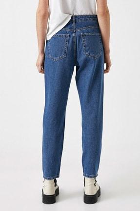 Koton Kadın Orta İndigo Jeans 1YAK47979MD 3