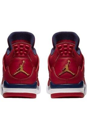 Nike Erkek Kırmızı Air Jordan 4 Retro Se Cı1184-617 Basketbol Ayakkabısı 3