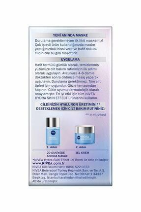 Nivea Cilt Bakım Seti Hydra Skin Effect 20 Saniyede Anında Maske + Hydra Skin Effect Jel Krem 50 ml 2