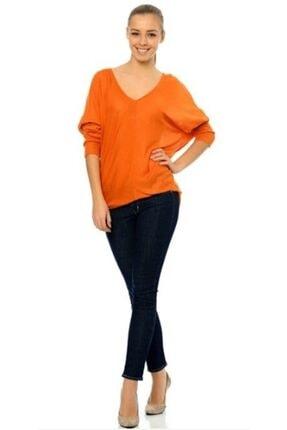 Bayan Slight Curve Skinny Lacivert Jean& Kot Pantolon 05403-0009